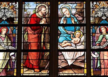 Symboliczny orszak Trzech Króli z katedry do hospicjum