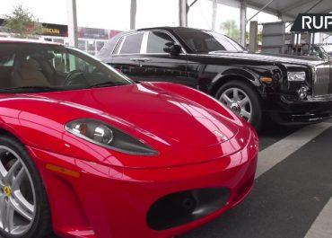 Ferrari i Rolls-Royce Donalda Trumpa trafiły na aukcję