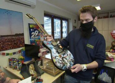 Wyjątkowa gitara na WOŚP