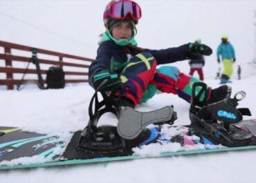 Siedmioletnia Rosjanka wielką nadzieją snowboardingu.