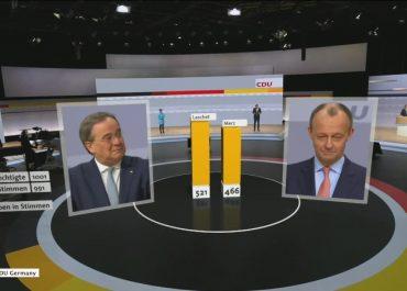 CDU wybrała nowego przewodniczącego. Może zostać kolejnym kanclerzem Niemiec