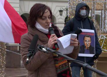 Manifestacja w obronie A. Nawalnego w Warszawie