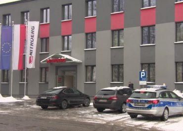 Eksplozja w fabryce materiałów wybuchowych w Bieruniu. Zginął pracownik