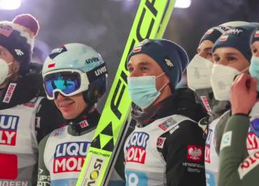 Polscy skoczkowie zajęli drugie miejsce w drużynowym konkursie Pucharu Świata w Zakopanem