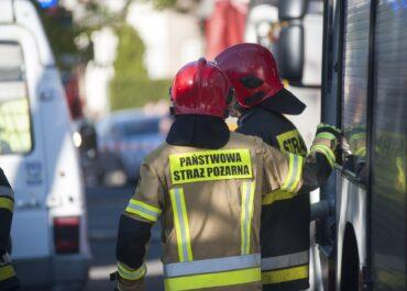 Wybuch gazu w Łomży. Ranna 80-latka trafiła do szpitala
