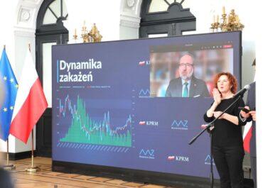 Nowe obostrzenia w Polsce. Trwa konferencja prasowa Ministerstwa Zdrowia