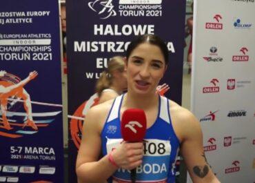 Ewa Swoboda halową mistrzynią Polski w biegu na 60 metrów