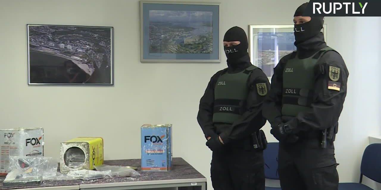 Największa konfiskata kokainy w historii Europy