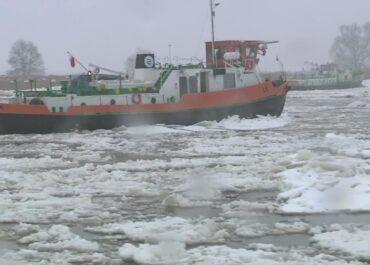 Polsko-niemiecka akcja lodołamania na Odrze