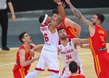 Polscy koszykarze przegrali z Hiszpanią w eliminacjach EuroBasketu