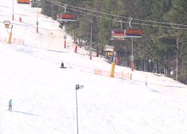 Zderzenie narciarzy na stoku w Krynicy-Zdroju