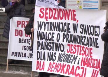 Sędziowie protestują w obronie zawieszonych kolegów. Na poniedziałek nie wyznaczyli rozpraw