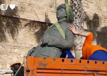 Ostatni pomnik generała Franco usunięty z hiszpańskiej eksklawy w Afryce