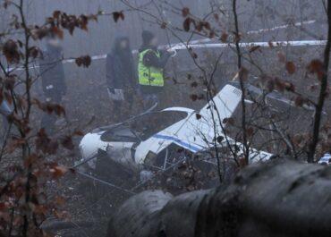 Na Śląsku w wypadku helikoptera zginęły dwie osoby