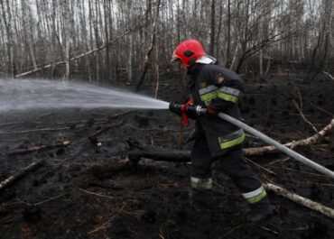 Jakie są straty po pożarze parku Biebrzańskiego?