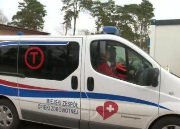 Napaść na ratownika medycznego we Włocławku.