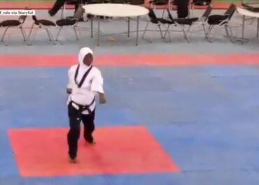 Kobieta w 8. miesiącu ciąży zdobyła złoty medal w… taekwondo.