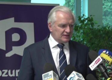 J. Gowin: Spójność koalicji rządowej nie jest zagrożona.