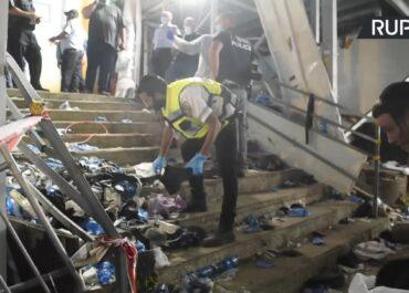 Wybuch paniki podczas religijnego święta w Izraelu. Wiele ofiar i rannych.