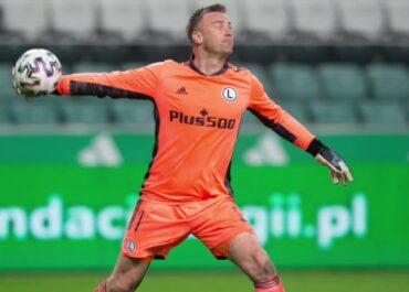 Artur Boruc przedłużył kontrakt z Legią Warszawa.