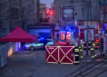 Atak nożownika na targowisku w Brzezinach. Jedna osoba nie żyje
