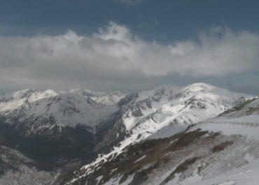 Wyższe partie gór dostępne tylko dla doświadczonych wspinaczy