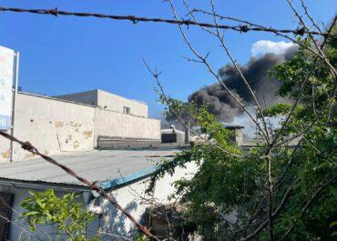 Niebezpieczny pożar chemikaliów w Poznaniu