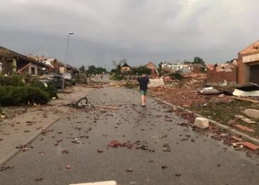 Tornado w Czechach. Wielu rannych, zniszczone budynki.