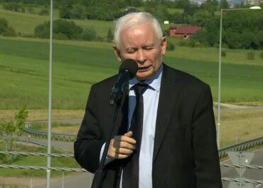 J. Kaczyński: Ewa Leniart jest jedynym kandydatem Prawa i Sprawiedliwości.