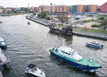 Kolizja dwóch statków na Motławie; pięć osób trafiło do szpitala