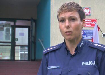 Policjantka uratowała dziecko, które dławiło się ciastkiem.