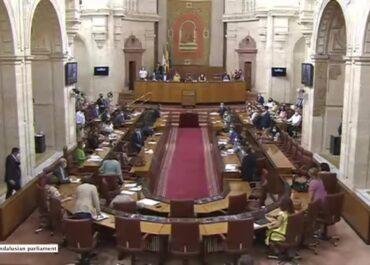 Szczur w parlamencie Andaluzji. Przewodnicząca krzyknęła, posłowie uciekali na biurka.