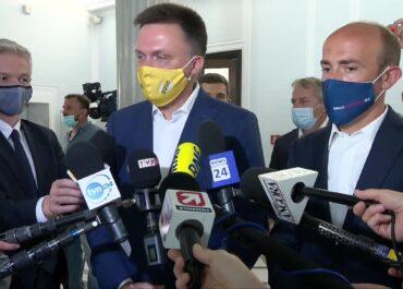 """""""Dawaj hajs i się odpieprz"""". S. Hołownia o polityce rządu PiS wobec Unii Europejskiej."""