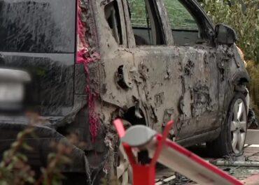 Uszkodzenie gazociągu. Koparka i dwa samochody w płomieniach, 700 osób ewakuowanych