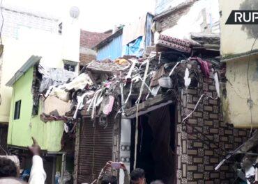 Zawalenie budynku mieszkalnego w Mumbaju.