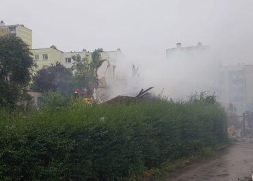 Potężna eksplozja w Toruniu. Zawalił się budynek