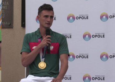 Spotkanie z mistrzem olimpijskim w Opolu. Dawid Tomala opowiadał o trudnych momentach w karierze