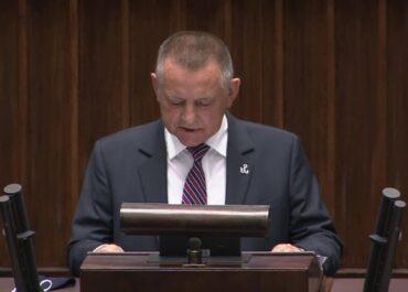 M. Banaś przedstawił sprawozdanie z działalności NIK.