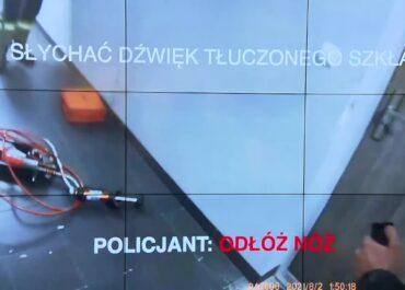 Śmierć 29-latka z Wrocławia. Policja publikuje nagranie z interwencji.
