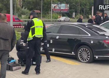 Ostrzelano samochód asystenta prezydenta Ukrainy. Ranny został kierowca.