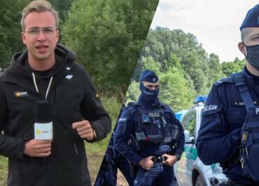 Dziennikarze Onetu z dwoma zarzutami. Chodzi o relację z obszaru objętego stanem wyjątkowym