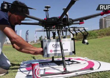 Drony dostarczą sushi, lody czy piwo. Izraelski rząd wspiera rozwój tej technologii.