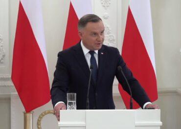 A. Duda: Widzę poważne niebezpieczeństwo także dla innych państw członkowskich Unii Europejskiej.