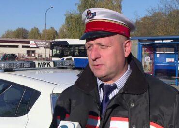 MPK w Krakowie: Sprawdzamy, czy osoby mają zasłoniętą twarz.