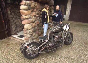 Motocykl wykuty ze stali. Pasjonat kowalstwa zbudował jednoślad.