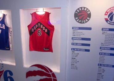 Gratka dla fanów NBA. Oficjalna wystawa najlepszej koszykarskiej ligi świata zawitała do Polski.